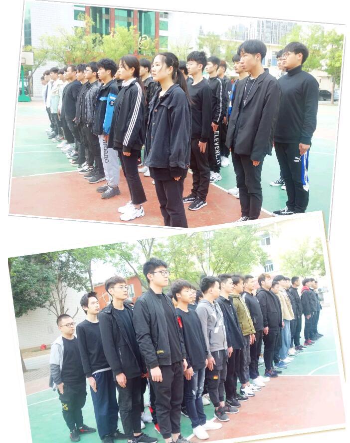 郑州北大青鸟翔天信鸽2019第三期军训!
