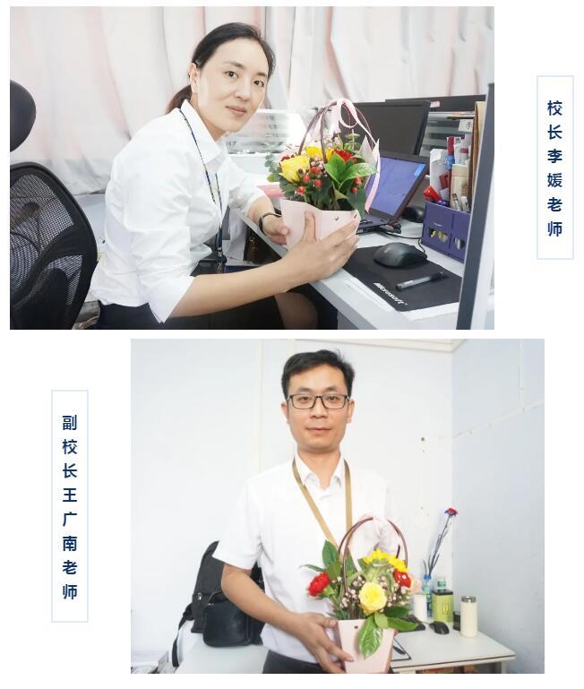来看看发生在郑州北大青鸟翔天信鸽的教师节那些温暖吧