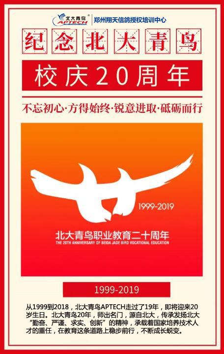 北大青鸟职业教育成立20周年
