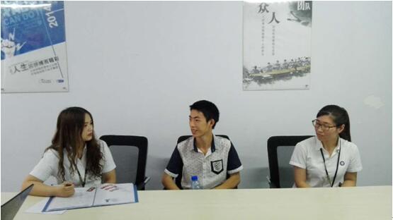 班主任访谈入学的盐津小伙伴学员