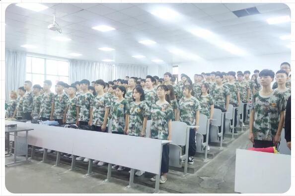 郑州北大青鸟翔天信鸽启蒙星新生军训强势来袭