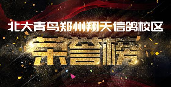 郑州北大青鸟翔天信鸽财大校区荣誉历史(2006-2021)