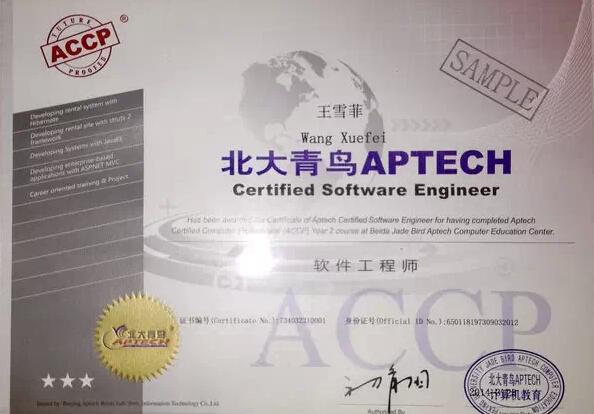 软件工程师证书