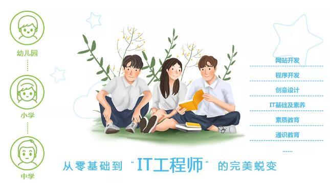郑州北大青鸟启蒙星(初中生)课程最新详解